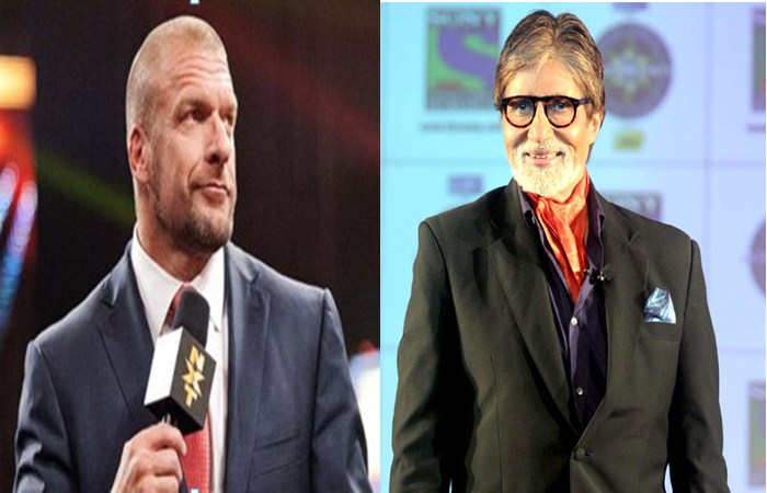 Triple H Try to Spoken Amitabh Bachchan's Film Dialogue