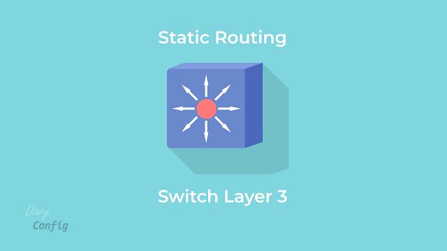 Routing statik menggunakan switch layer 3