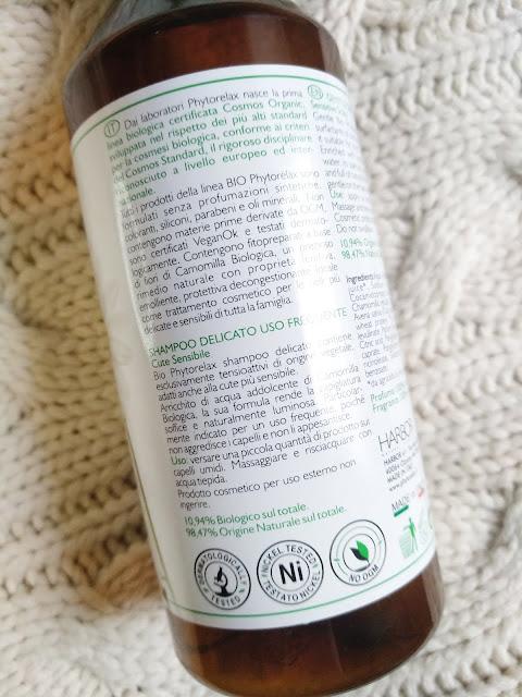 opinioni Bio Phytorelax shampoo delicato uso frequente