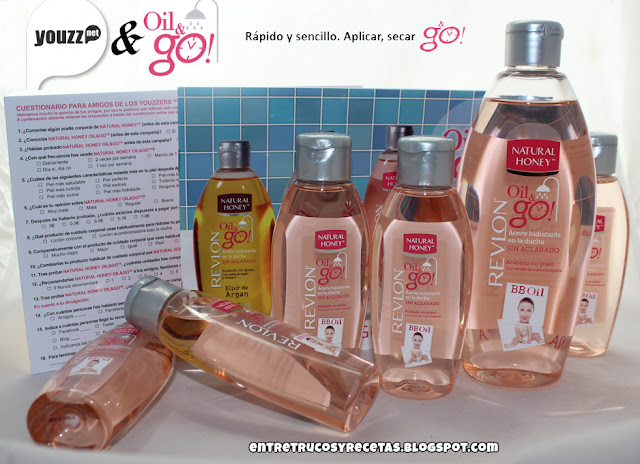 Oil&go! de Natural Honey. Proyecto Youzz. Bb oil
