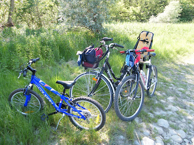 in bicicletta con i bambini
