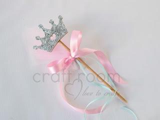 μπομπονιερα-βαπτισης-κορωνα-ξυλινη-κοριτσι-γκλιττερ-ροζ-βεραμαν-πριγκιπισσα
