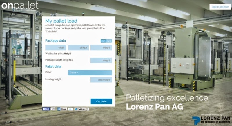 Calculating Pallet Loads Online Free of Charge | AdvancedonTrade com