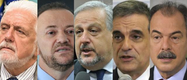 Terror em Brasília. Impeachment de Dilma coloca 5 ministros nas mãos de Sérgio Moro