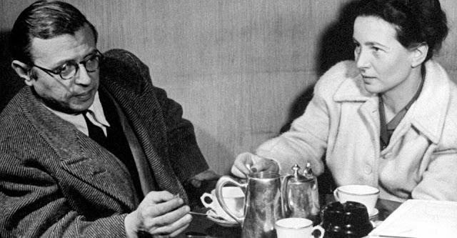 Une belle lettre de rupture  : Dès 1947, Simone de Beauvoir se lance à la découverte du monde. Elle se rend tout d'abord aux Etats-Unis, où elle rencontrera son amant Nelson Algren, puis parcourt l'Afrique et l'Europe. En 1955, elle débarque en Chine. Elle découvre Cuba et le Brésil au début des années 1960, puis séjourne en URSS. Ses différents périples à l'étranger lui permettent d'enrichir ses ouvrages, qu'elle ne néglige à aucun moment.