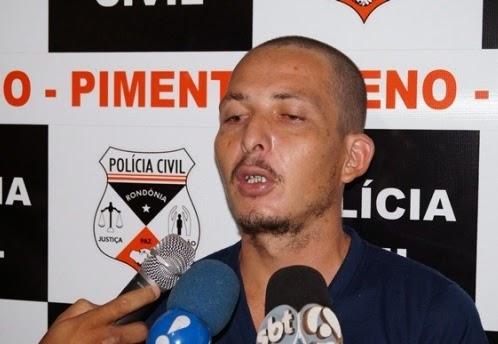 Acusado de degolar jovem de Pimenta Bueno para roubar carro foge de presídio