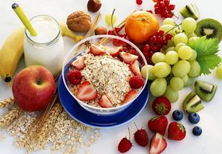 Komposisi makanan sehat untuk diet sehat