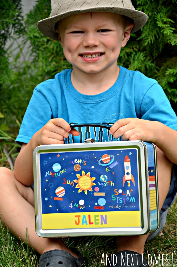 Personalized lunch box from I See Me {review & giveaway} from And Next Comes L