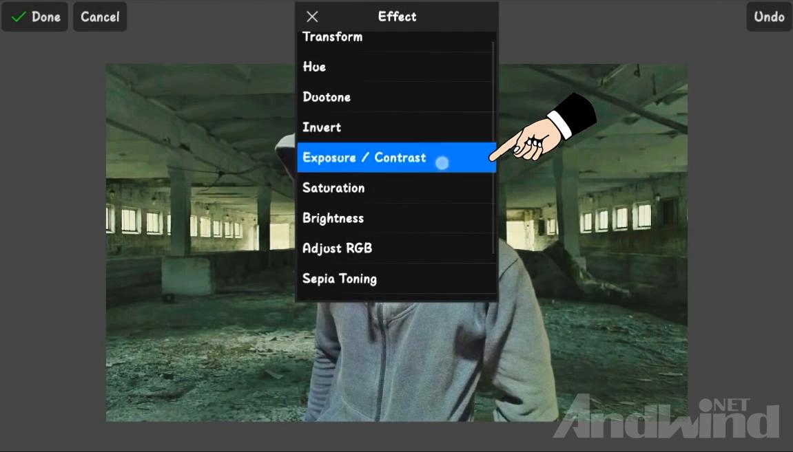 Cara Edit Foto URBEX People Menggunakan Picsay Pro Android