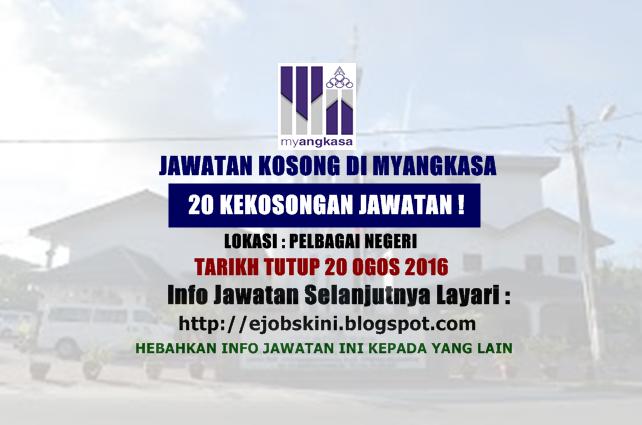 Jawatan Kosong Terkini di MyAngkasa