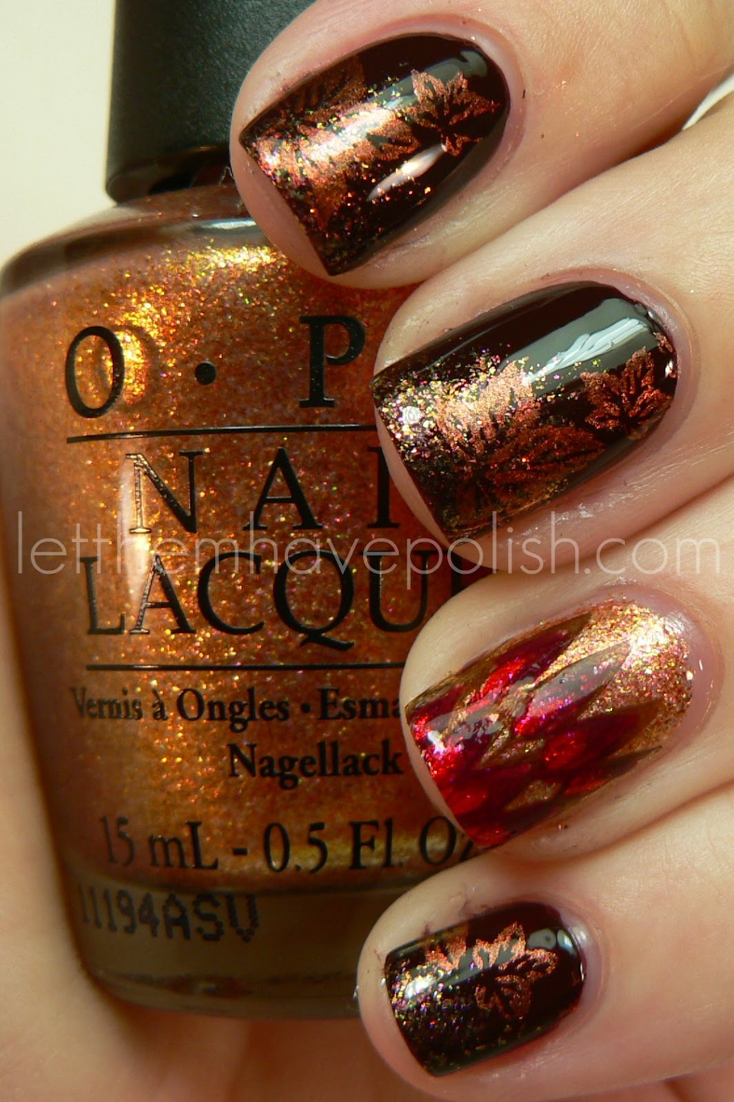Let Them Have Polish!: Happy Thanksgiving With O.P.I Nail