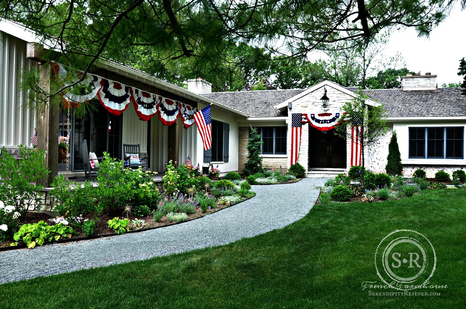 Serendipity Refined Blog Patriotic Decorating Using