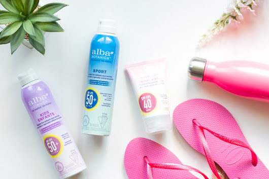 alba Botanica Facial Sunscreen Lotion & Continuous Spray SPF