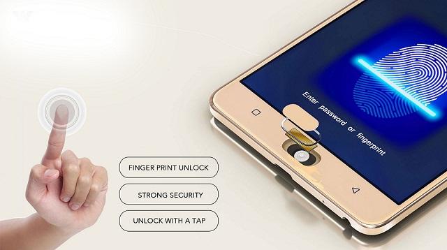 Primo ZX2 Lite hands-on review Fingerprint Sensor