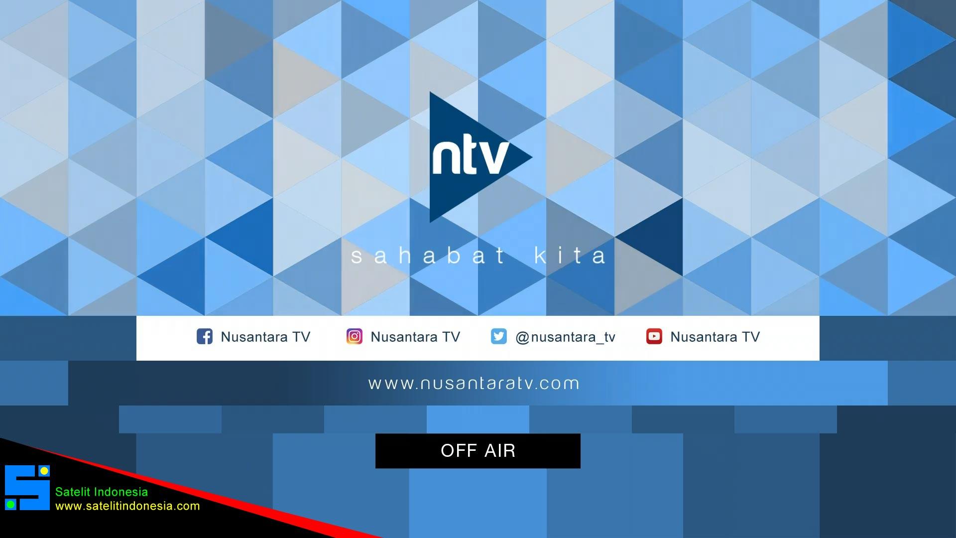 Frekuensi siaran Nusantara TV di satelit Telkom 4 Terbaru