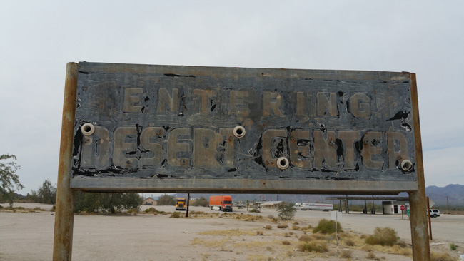 Desert Center California Ghost Town