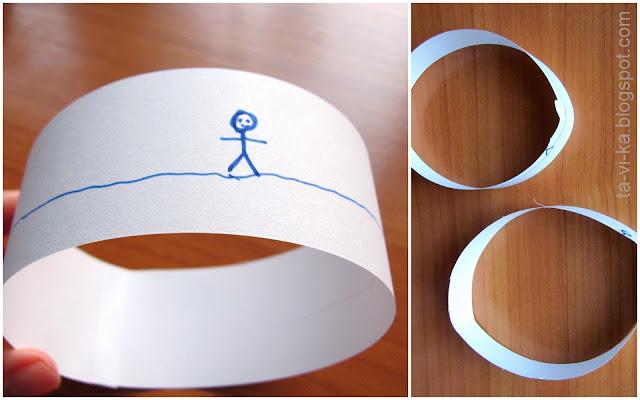 фокус с лентами magic tape