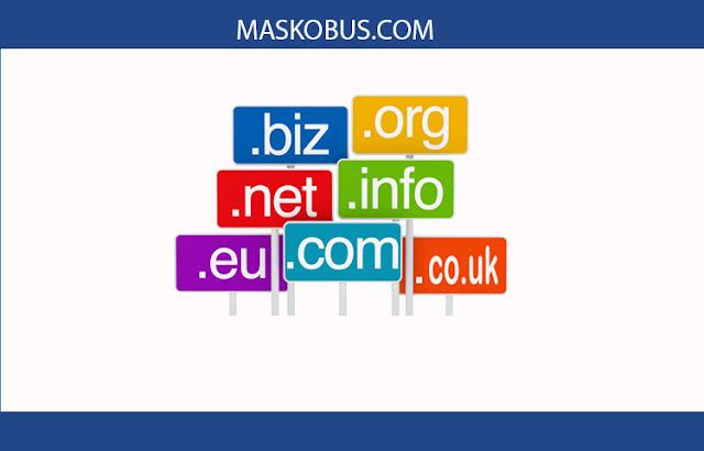 Memilih domain yang tepat untuk website anda