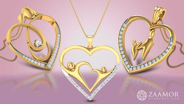 Zaamor Mother's Day Pendants