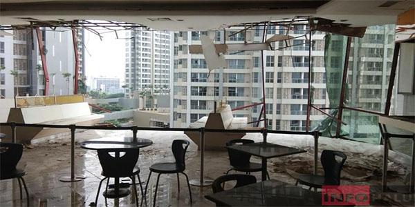 12 Counter serta 2 Restoran Rusak Efek Ledakan di Mal Taman Anggrek