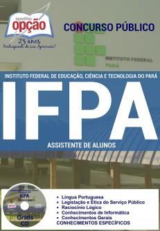Apostila para cargo de Assistente de Alunos - Concurso Instituto Federal Pará - IFPA