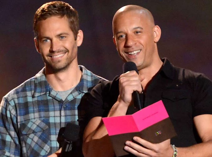 Vin Diesel's Daughters and Paul Walker are back together as they pose together in a Heartwarming Photo