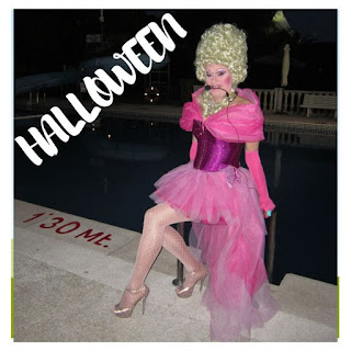 Shows drag queen para fiestas Halloween Madrid