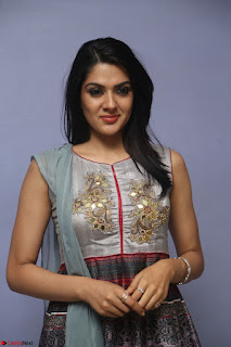 Sakshi Chaudhary Beautiful Emroidery Work Sleeveless Anarkali Dress 060.JPG