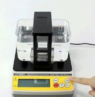 balança de teste de densidade para ouro