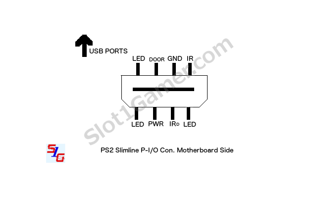 PS2 Slim IR sensor pinout?