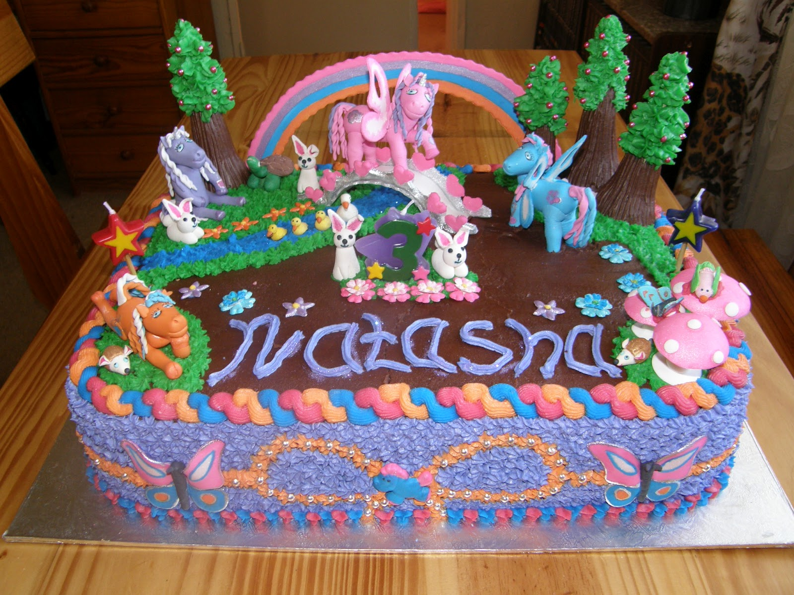 Its my party My little pony birthday cake
