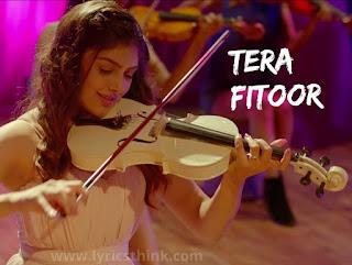 tera fitoor music ringtone