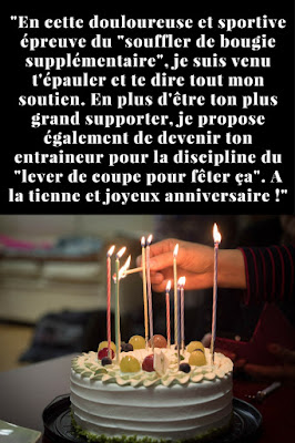 message d'anniversaire original