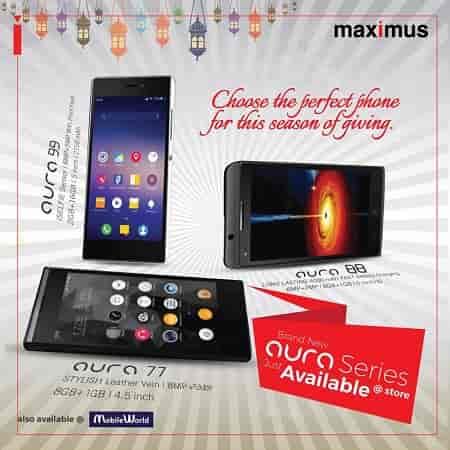 Maximus Aura 77 Smartphone