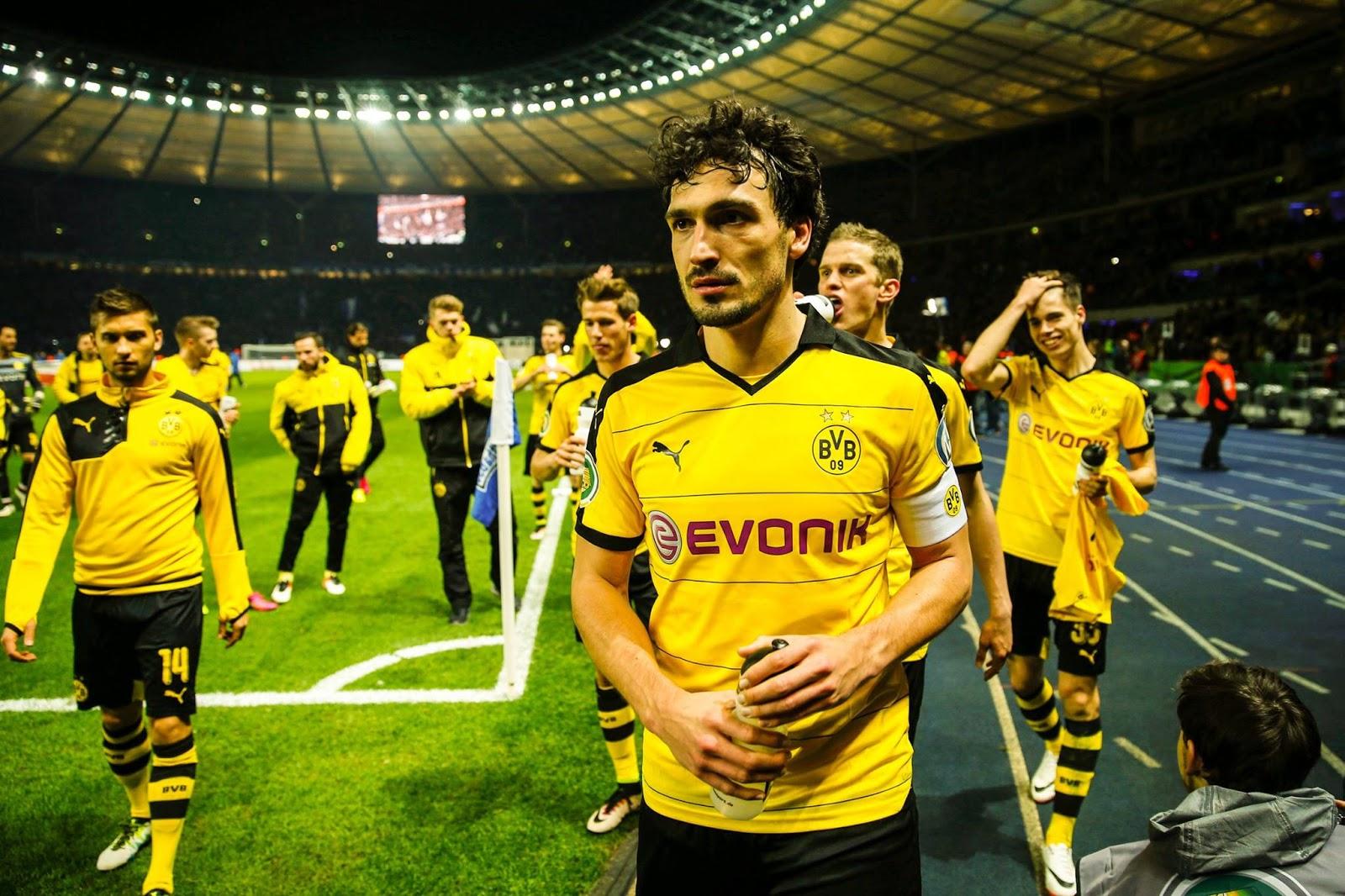Borussia Dortmund, Raja Comeback di 5 Liga Top Eropa