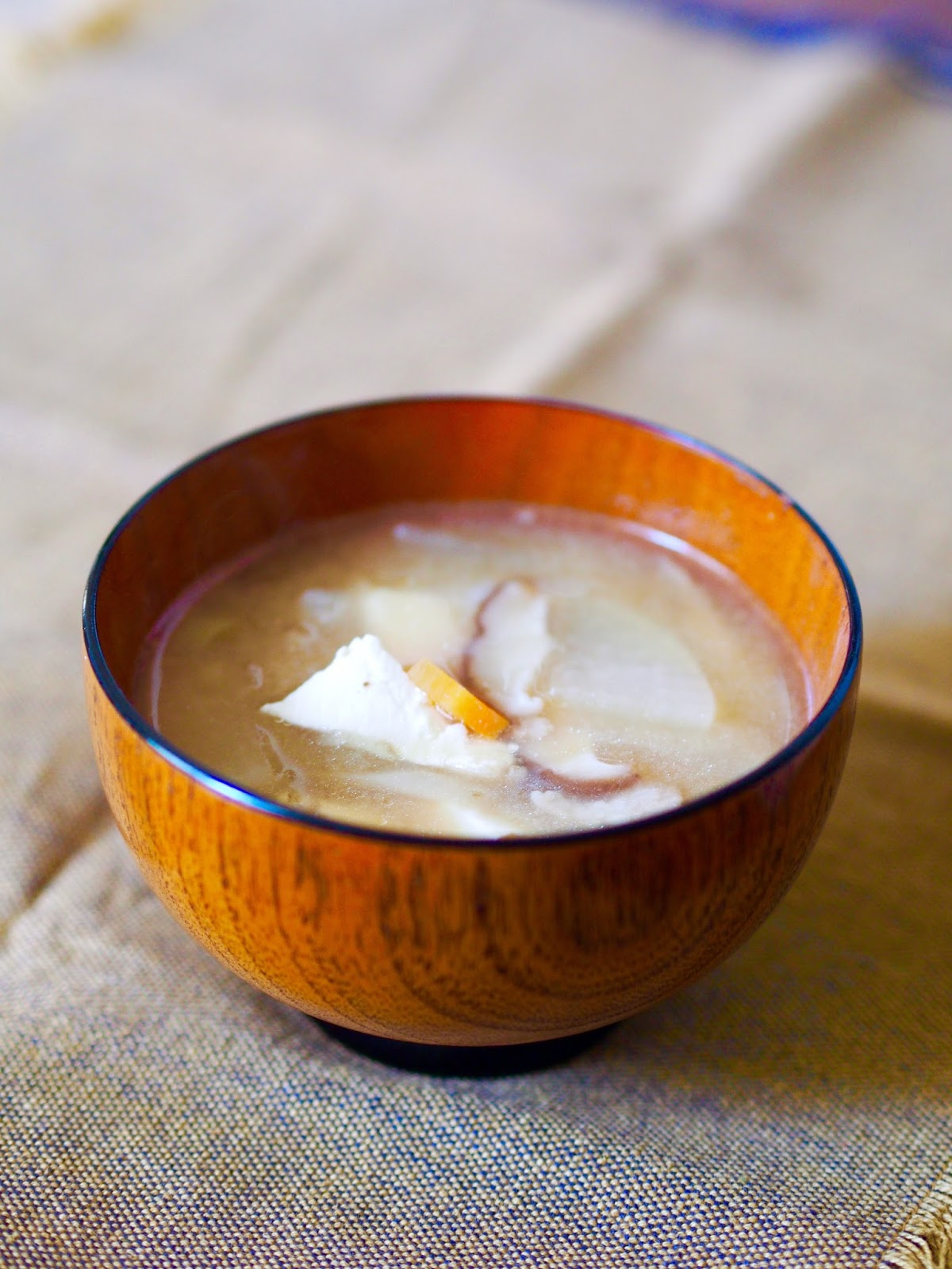 Da Washoku Kitchen: TONJIRU (Pork Miso Soup)