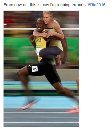 Ellen DeGeneres labeled a racist for her Usain Bolt meme