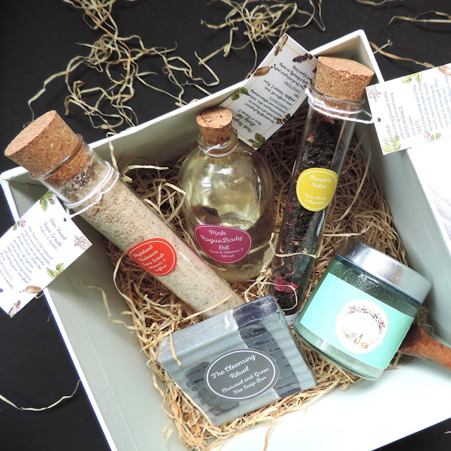 Unboxing the herb boutique