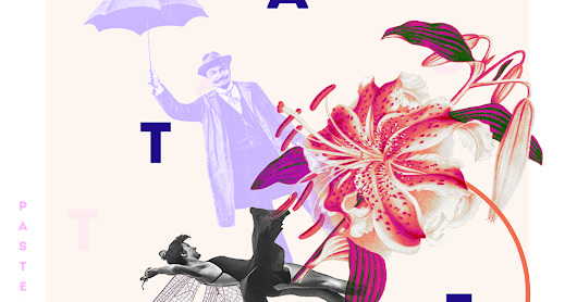 INSPIRED: RASTER GRAPHICS AND COLLAGES