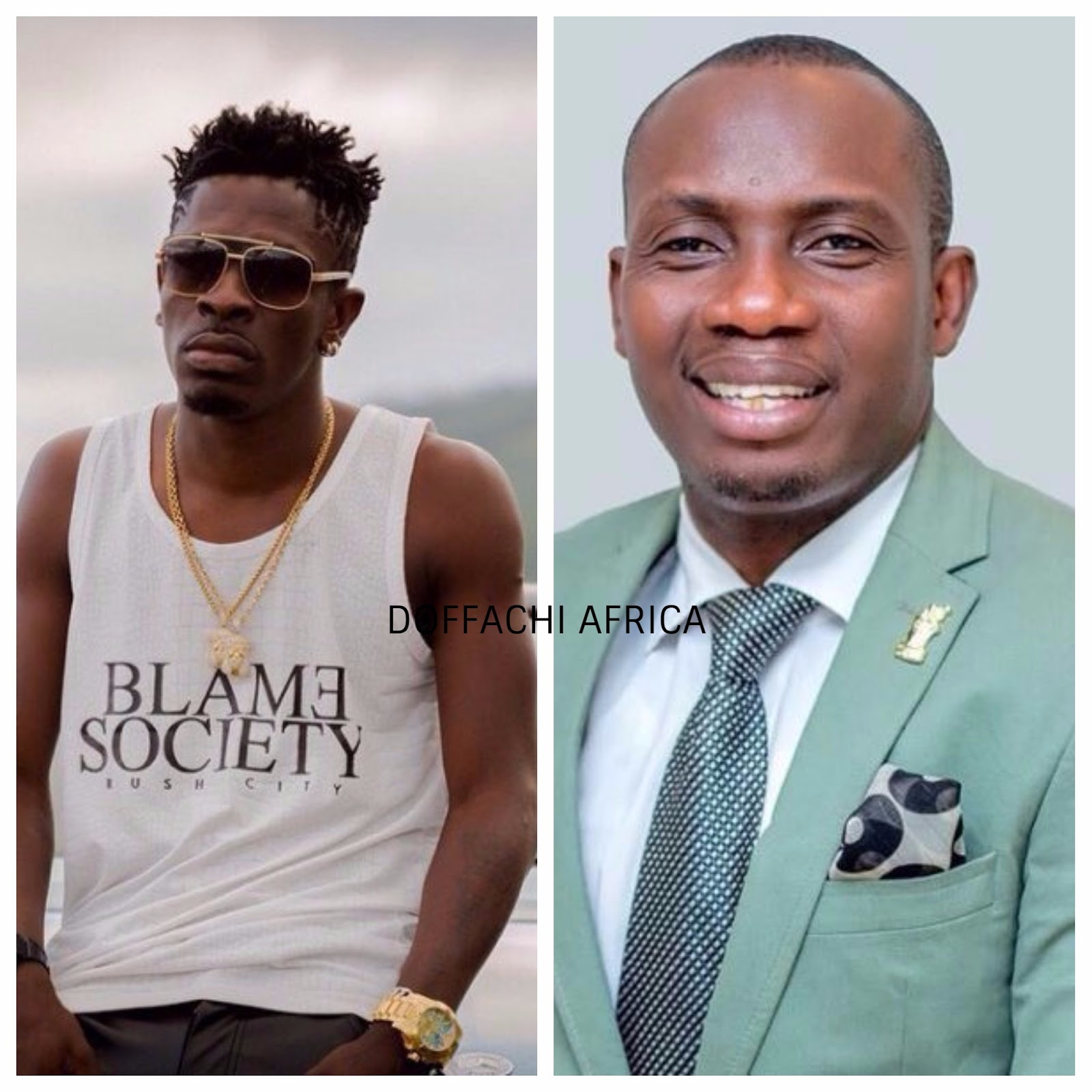shatta wale  Counselor Lutterodt