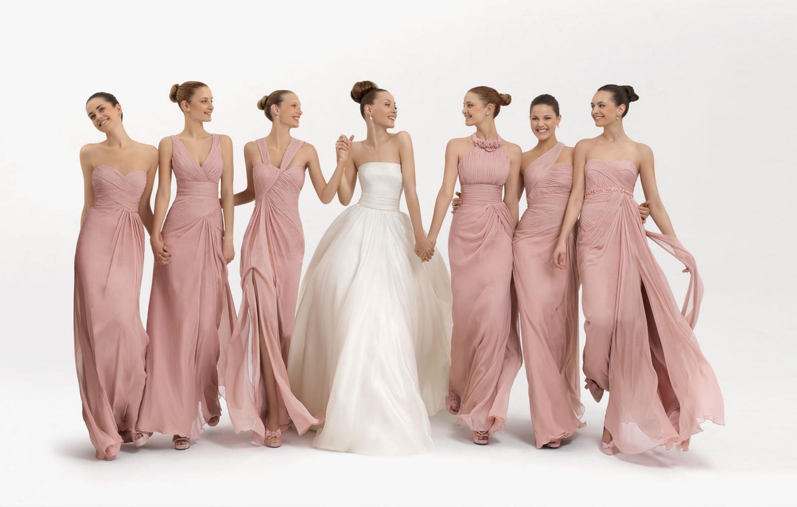 damas_de_honor_two_fiesta_5T256_5T254_5T249_5T257_5T251_5T248 Western Wedding Entourage