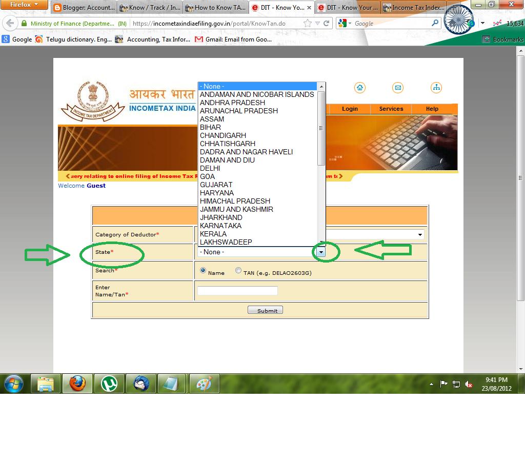 income tax india login