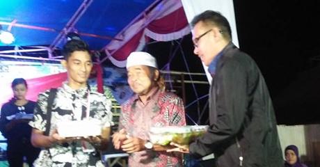 Perayaan HUT RI di Kurao Pagang, Desri Ayunda Datang, Warga Pun Senang