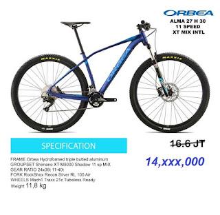 Orbea Alma 27 H30 2017 Blue