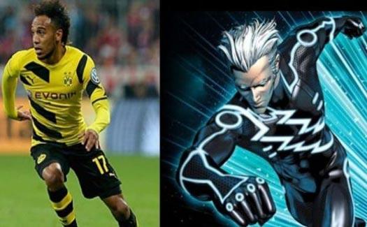 artis kartun 13 Pemain Bola Terkenal yang Mirip Superhero Marvel