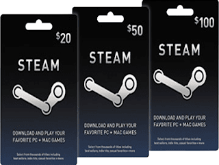 Free Steam Wallet Gift Cards Code without Hack Tool