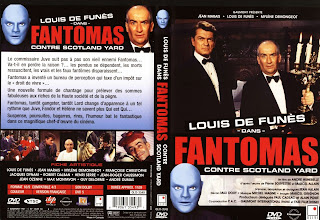 Fantomas contra Scotland Yard (1967) - Carátula