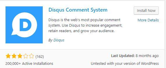 Add Disqus WordPress Comments on Your Website