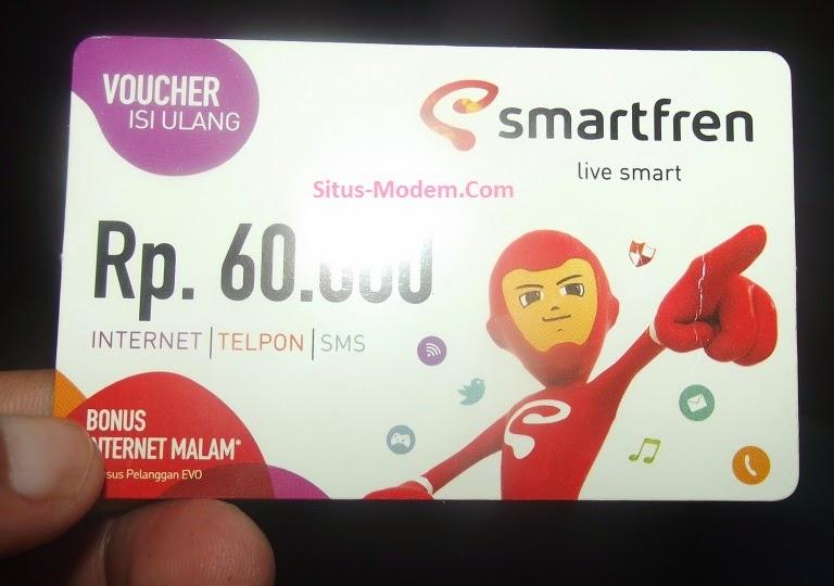 Kini Voucher Smartfren 60 Ribu Sudah Tersedia