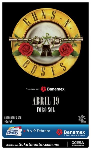 Guns N' Roses en México